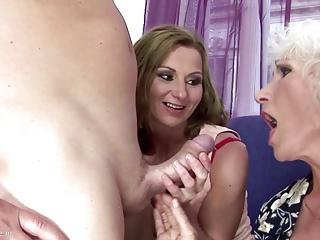 Mom and granny fucked..